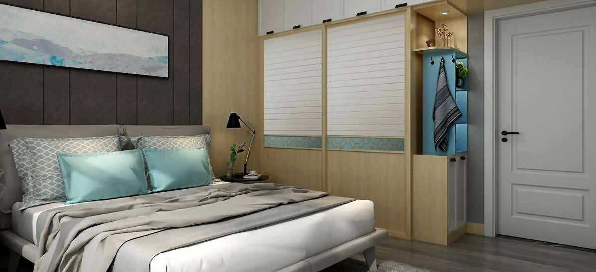 卧室-斑斓绿