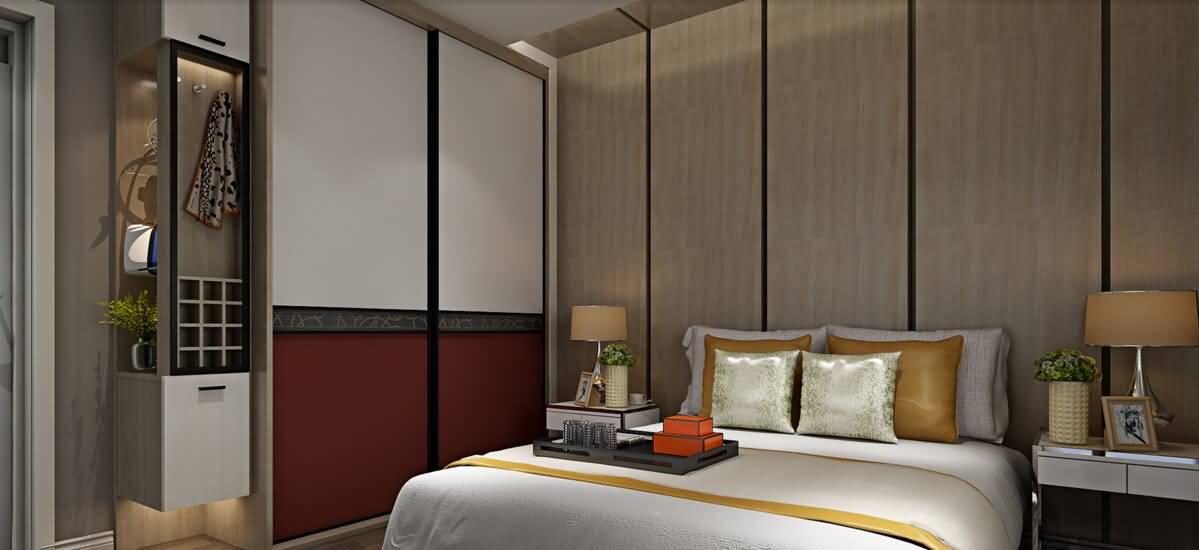 卧室-急速红