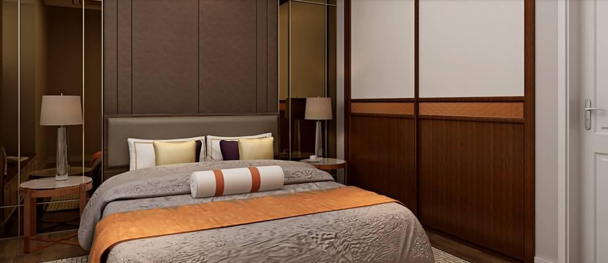 卧室-旺角橙